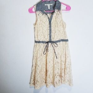 American Rag Cie Lac Casual Dress Indie Boho Sz S